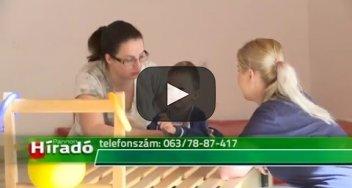 Embedded thumbnail for A Pető-módszerrel foglalkoznak a beteg gyerekekkel és felnőttekkel Zentán