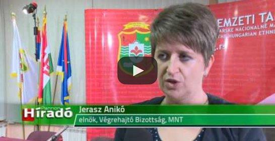 Embedded thumbnail for Ülésett a Magyar Nemzeti Tanács