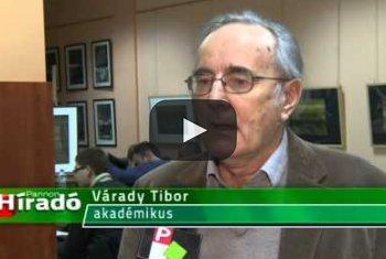 Embedded thumbnail for Várady Tibor megismerkedett a kiválósági ösztöndíj-hitel támogatottjaival