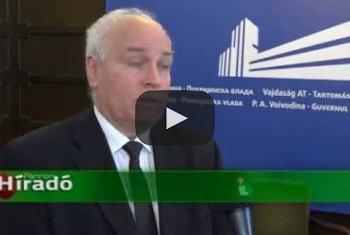 Embedded thumbnail for Több mint 60 millió dinárral támogatja a tartományi kormány a nemzeti tanácsok működését