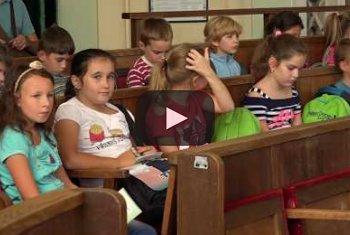Embedded thumbnail for Harmadikos gyerekek látogattak Zentára