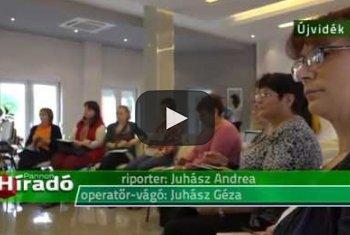 Embedded thumbnail for Újvidéken 20 óvónő vett részt a Magyar Kormány által támogatott óvodapedagógus–képzésén