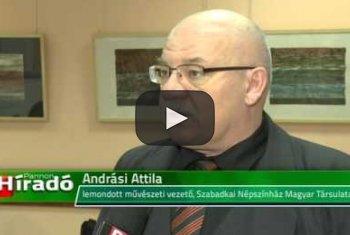 Embedded thumbnail for Benyújtotta lemondását Andrási Attila, a megbízott igazgató Gyarmati Kata lesz
