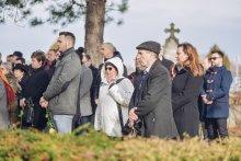 Посвећење колумбаријума др Шанта Ђерђа и његове супруге